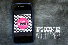 Summer Phone Wallpapers - free download!