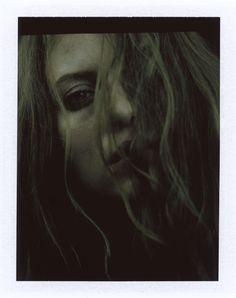 Olga #polaroid #fuji portrait © Carlo Furgeri Gilbert