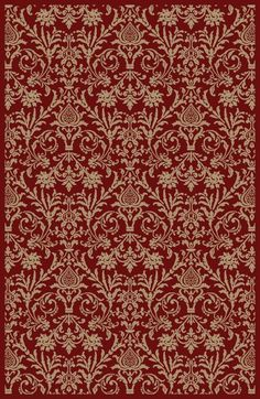 4940 Damask (Red) from Jewel by Concord Global