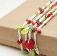 what a cute wrapping idea!
