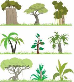 Grüner Baum Vektor