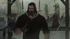 concept art dragon age bioware Matt Rhodes dragon age: inquisition Blackwall