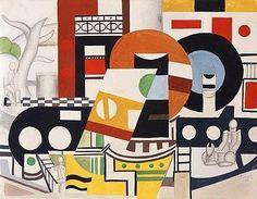 By Fernand Léger Le remorqueur 1920