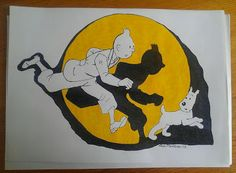 Drawing by Kaisa Minkkinen