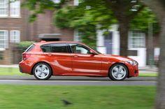 BMW 125d M Sport -Side View