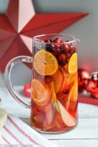 Five Ingredient White Sangria on MyRecipeMagic.com
