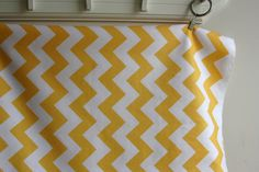 yellow chevron fabric-need for headboard!