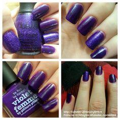 Fullmetal Cupcake: December 2014 December 2014, Swatch, Nail Polish, Nail Art, Purple, Nails, Cupcake, Beauty, Beautiful