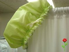 Reversible Shower Cap Love Lime and LimeGreen  Two by web4soleil, $12.00