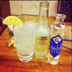 G & T with Citadelle Gin. 2oz Citadelle Gin, 4oz Tonic Water. #cocktail #cocktails