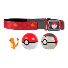 Cinto Pokémon Clip N' Carry com Pokébola + Charmander Pokemon Charmander, Tomy Toys, Sunnies, Belt, Action, Crafts, Pokemon Dolls, Pokemon Manga, Toy Store