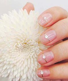 elegant women nails idea
