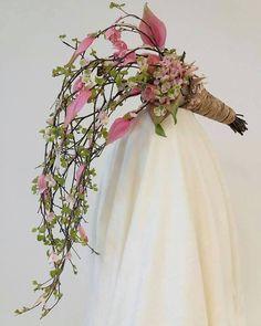 Pink bohemian bouquet.