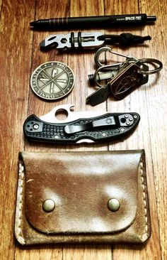 leather and weathered