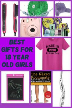 Gifts for 18 year old girls | Gifts by Age Group ♥♥ Christmas and ...