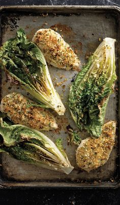 If you've never tried roasting your lettuce before, this Caesar-spiced version will turn you into a convert.