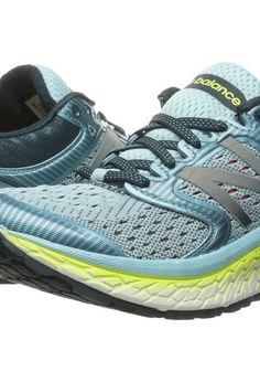 New Balance Fresh Foam 1080v7 (Ozone Blue Glo/Lime Glo) Women's Running Shoes - New Balance, Fresh Foam 1080v7, W1080BY7-566, Footwear Athletic Running, Running, Athletic, Footwear, Shoes, Gift, - Fashion Ideas To Inspire
