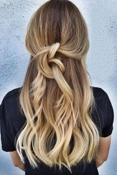 blonde ombre balayage