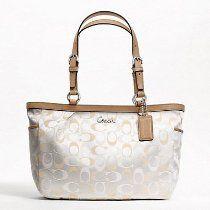 Coach Cream Shoulder Bag 5