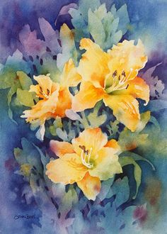 Gloria by Susan Crouch Watercolor