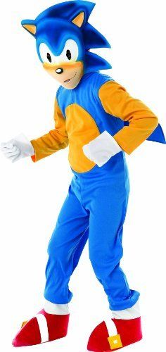 Sonic Generations Sonic The Hedgehog Deluxe Costume Rubie's Costume Co. $26.74