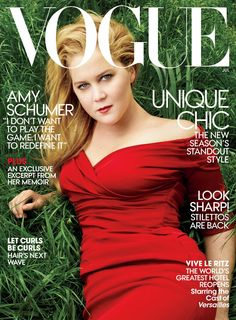 "Pin for Later: Vogue Cover Star Amy Schumer on Hollywood: ""The Reign of the Mean Girls Is Ending"""