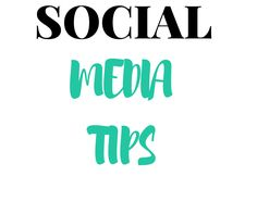 All social media tip in ONE place !:)