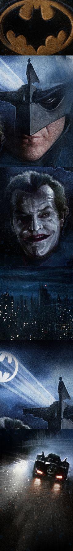 Batman (1989) on Behance