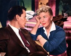 "Laurie Tuttle (Frank Sinatra & Doris Day): ""When you consider that you get older every single day when you wake up, it can tempt one to rush into decisions a little!"" -- from Young at Heart (1954) directed by Gordon Douglas"