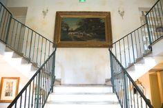Le Moulin de Valerie Restaurant - Der Hauptraum - Treppe