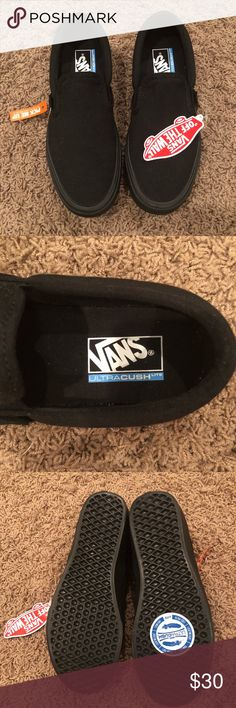 3327b191e168 Vans Canvas Slip On Lite Brand New Brand new Black Canvas Slip On Lite Vans.