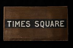 Times Square Sign for hire from Tiggs Props AN15. Annie