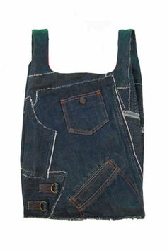 'Le sac' jeans version - from used jeans