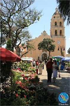 Atlixco / Puebla  Can't wait to see this for myself!!!!!