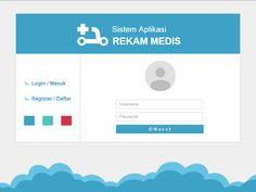 Rekam Medis Login Form by Reza Padillah
