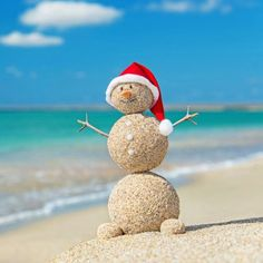 """best of both worlds ..Christmas & The Beach!"""""""