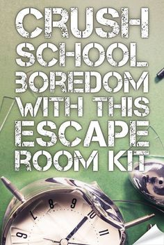 It's time to CRUSH boredom by transforming your classroom into an escape room adventure. Here's the secret tech you'll use to make it fun & easy to setup. Escape The Classroom, Escape Room For Kids, Escape Room Puzzles, Classroom Hacks, School Classroom, Classroom Activities, Fun Activities, Homeschooling In California, Homeschool Curriculum