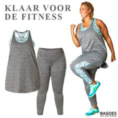 Plus size active wear for fitness !