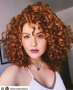 Burgundy Brown - 40 Red Hair Color Ideas – Bright and Light Red, Amber Waves, Ginger Hair Color - The Trending Hairstyle Short Curly Hair, Curly Hair Styles, Natural Hair Styles, Curly Ginger Hair, Short Pixie, Auburn Hair, Red Hair Color, Color Red, Super Hair