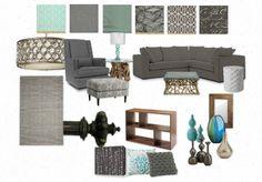 Living Room-Olio Board