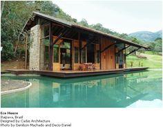 casas de campo en la selva de brasil - Buscar con Google