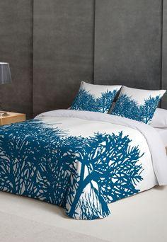 Recife White Bed Set