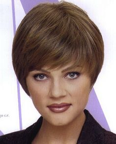 Wedge hairstyle