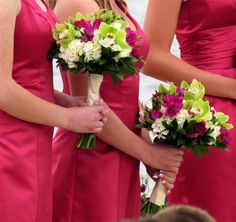 beach wedding decor with apple green and pink - Google Search