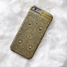 Ancient Kaaba Brass Copper Arabesque Pattern Door Barely There iPhone 6 Case