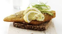 Smorgasbord - battered sole with remoulade