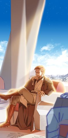 Obi-Wan sitting part 1 (part 2: https://it.pinterest.com/pin/315252042652505039/)