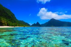 Ofu Beach in American Samoa is one of the toughest places to reach in the remote South Pacific Ocean. But those who make it here will have one of the prettiest beaches in the world all to themselves!