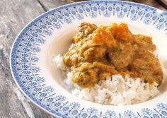 Pork and pumpkin curry recipe