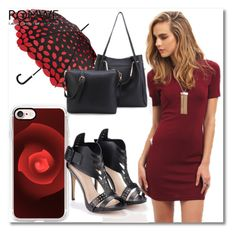 """Romwe #3/1"" by s-o-polyvore ❤ liked on Polyvore featuring Lulu Guinness and Casetify"